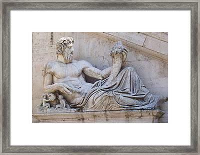 The Tiber Framed Print by Ellen Henneke