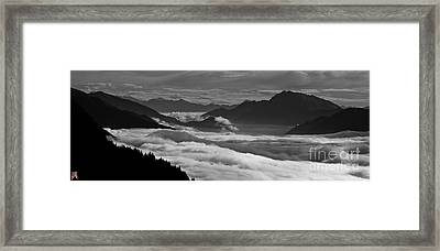 The River Of Clouds Framed Print by Marco Affini