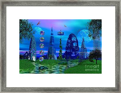 Framed Print featuring the photograph The River Quinque by Mark Blauhoefer