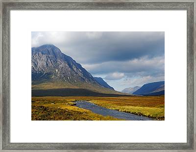The River Runs Through It Framed Print by Wendy Wilton