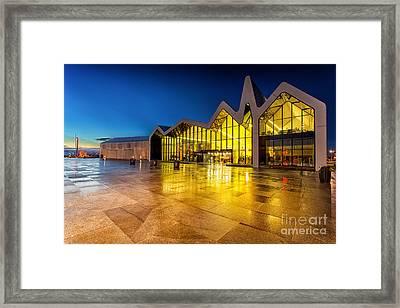The Riverside Museum Glasgow Framed Print by John Farnan