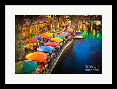 Riverwalk Photographs Framed Prints