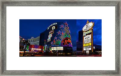The Riviera 1955-2015  Framed Print by James Marvin Phelps