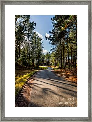 The Road Ahead Framed Print by Adrian Evans