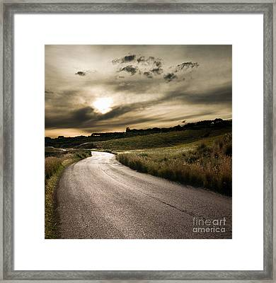 The Road Framed Print by Boon Mee