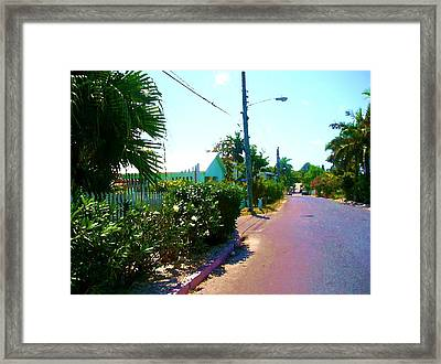 Path Of Righteousness Framed Print