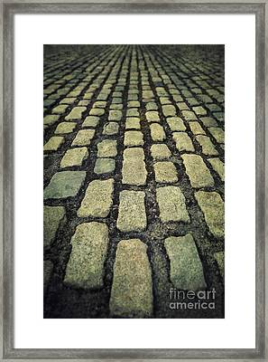 The Road Eternal Framed Print by Evelina Kremsdorf