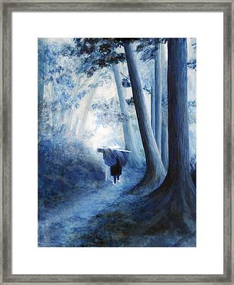 The Road Home Framed Print by Donna Walsh
