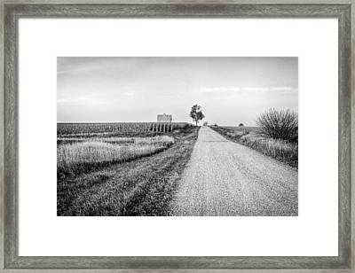 The Road Home Framed Print by Jeff Burton