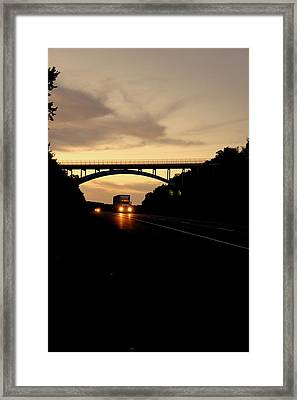 The Road Home Framed Print by Off The Beaten Path Photography - Andrew Alexander