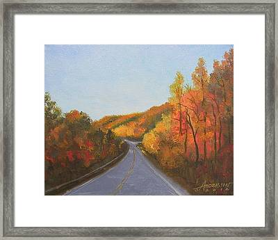 The Road Home Framed Print by Sherri Anderson