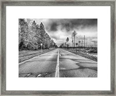 The Road Less Traveled Framed Print