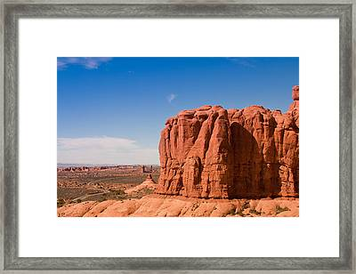 The Road Never Ends Framed Print