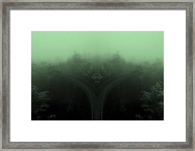 The Road Not Taken Framed Print by Dan Sproul