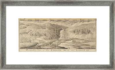 The Road Over Corryarick Hills Framed Print by British Library