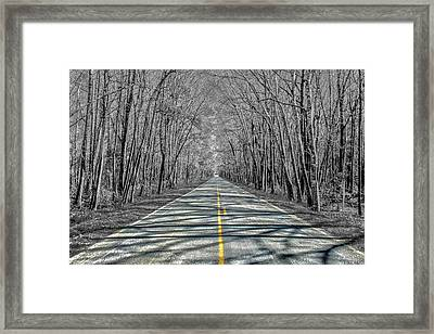 The Road Framed Print by Steven  Taylor
