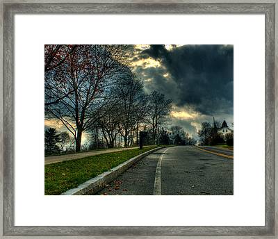 The Road Framed Print by Tim Buisman