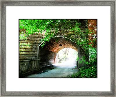 The Road To Beyond Framed Print
