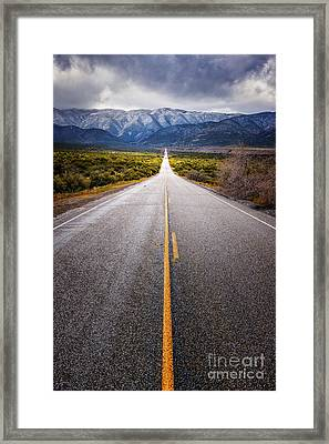 The Road To Julian Framed Print by Alexander Kunz