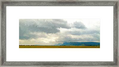 The Road To Limpopo Framed Print