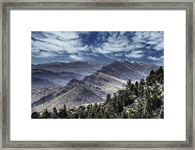 The Road To Markleeville Framed Print