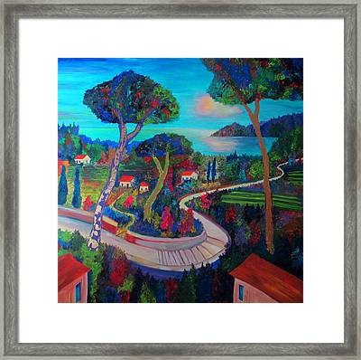 The Road To Recovery Framed Print