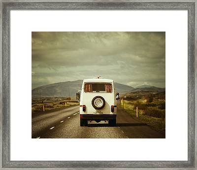The Road Trip Framed Print by Irene Suchocki