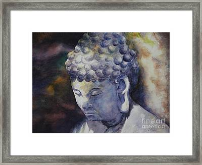 The Roadside Buddha Framed Print