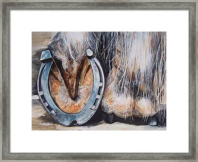 The Roadster Framed Print