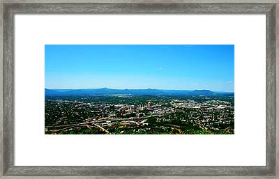 The Roanoke Valley Framed Print by Kara  Stewart