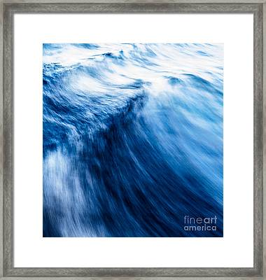 The Roar Of The Sea Framed Print