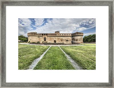 The Rocca Sforzesca In Imola Italy Framed Print by Marc Garrido