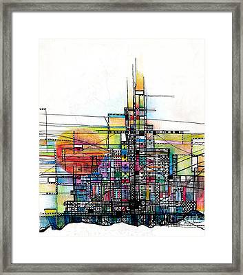 The Rock Framed Print by Andy  Mercer