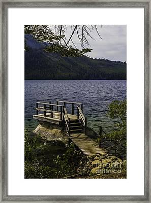 The Rock Dock Framed Print