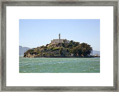 The Rock Framed Print by Kelley King