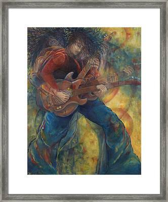 The Rocker Framed Print