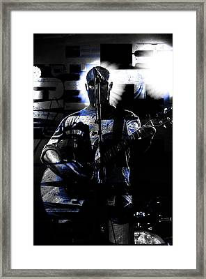 The Rocker  Framed Print by Tommytechno Sweden