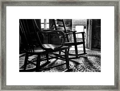 The Rockers Framed Print