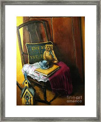 The Rocking Chair Framed Print by Patricia Lang