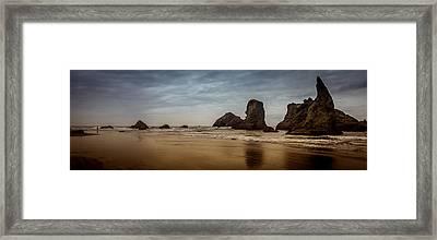 The Rocks At Bandon Framed Print