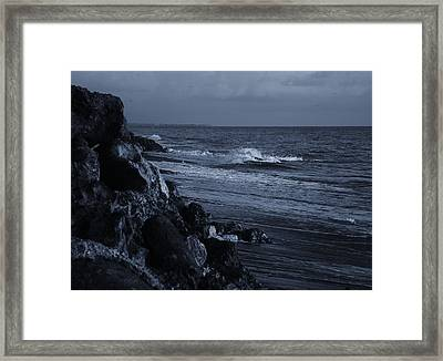 The Rocks Framed Print