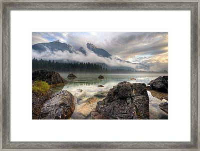 The Rocks Framed Print by Keller