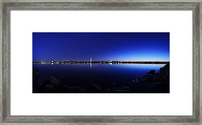 The Rocks Of The Potomac Framed Print by Metro DC Photography