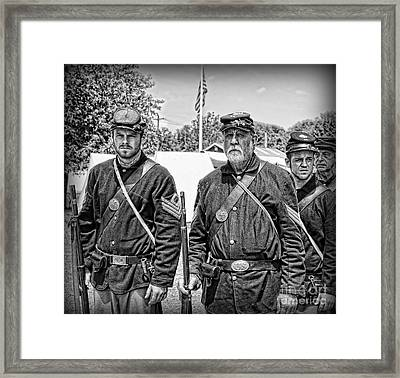 The Rocky Road From Dublin - The Irish Brigade - The Civil War Framed Print by Lee Dos Santos