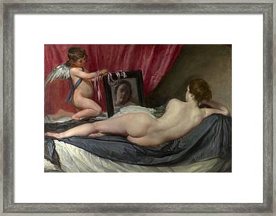 The Rokeby Venus Framed Print