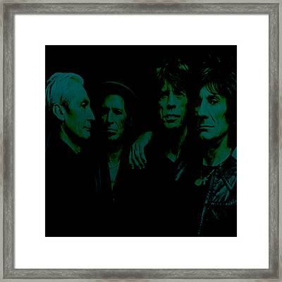 The Rolling Stones 2b Framed Print