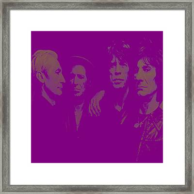 The Rolling Stones 3a Framed Print