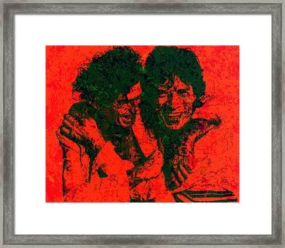 The Rolling Stones 4e Framed Print