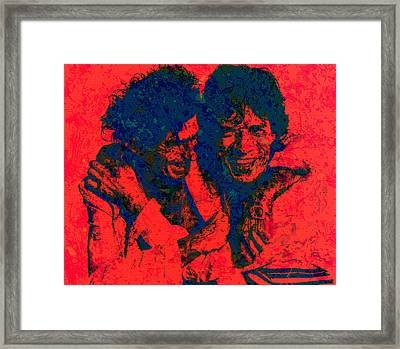 The Rolling Stones 4f Framed Print