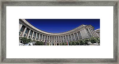 The Ronald Reagan Building And International Trade Center Framed Print by Tom Gari Gallery-Three-Photography